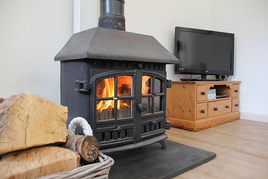 The Old Stables Cottage Wood Burner